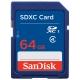 闪迪(SanDisk)64GB SDXC存储卡 Class4 SD卡