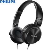 飞利浦(PHILIPS)音乐耳机 强劲低音 平折 SHL3060(黑)
