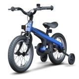 Ninebot九号儿童自行车儿童车男运动款 小孩宝宝男童单车14寸蓝色