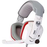 硕美科(SOMIC)G909 头戴式电脑耳麦  7.1声效震动游戏耳机  白色