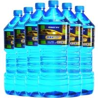 車仆(Chief)CP10092 汽車玻璃水大瓶雨刷精車用雨刮水清潔劑清洗液除油膜 2L 0度玻璃水 6瓶裝