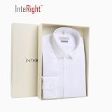 INTERIGHT DP100 成衣免烫衬衫男士长袖 白色 43码