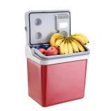 美固(MOBICOOL)P24 21L车载冰箱 车载冷暖箱 恒温箱 小冰箱 红色