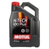 摩特(MOTUL)H-TECH 100 PLUS 全合成机油润滑油5W-30 SN级 4L