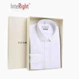 INTERIGHT DP100 成衣免烫衬衫男士长袖 白色 41码