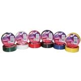 3M 1500 通用型PVC电气(电工)绝缘胶带/无铅电工胶带 黑红绿白蓝黄 六色彩色混合装 共12卷