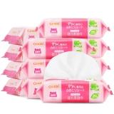 康贝(Combi)PiPi专用婴儿柔湿巾(80片*12包)新生儿宝宝湿纸巾套装(箱装)