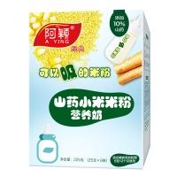 阿颖经典淮山山药营养奶小米米粉 225g/盒 (适合6-12个月)(新老包装随机发货)