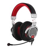 铁三角(Audio-technica)ATH-PDG1 头戴式专业游戏电脑线控通话耳机耳麦 黑色