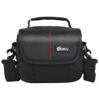 锐玛(EIRMAI)S2620 佳能尼康数码微单相机包 索尼富士奥林巴斯微单包 防水抗震摄影单肩包 黑色