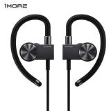 1MORE万魔 无线运动蓝牙耳机EB100 黑色 双声道立体声 挂耳式 通用型