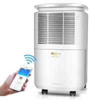 亚都(YADU)除湿机/抽湿机 除湿量12升/天 适用面积10-30平方米 噪音45分贝 智能APP控制 家用/地下室 YD-C102BGW