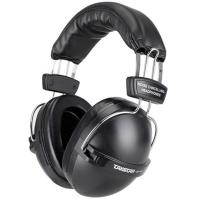 得胜(TAKSTAR)EP-100 噪音防护型耳塞 防噪音耳罩 隔音耳机 不含声音单元 防噪降噪专用 黑色