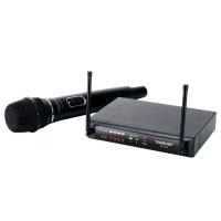 得胜(TAKSTAR)TS-7310专业U段无线麦克风一拖二家庭KTV工程会议主持专用话筒黑色