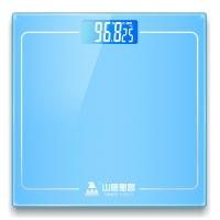 山鹰  SYE-903H-J 电子秤人体秤礼品秤电子称体重秤家用(梦幻蓝)