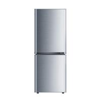 康佳(KONKA)155升 双门冰箱 金属面板 保鲜静音(银色)BCD-155TA