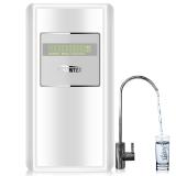 佳尼特(CHANITEX)家用无桶净水器 1:1低废水3年反渗透膜 Mini智能直饮纯水机 CR400-A-S-1