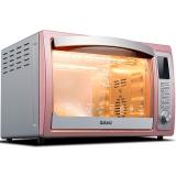 格兰仕(Galanz)烤箱家用多功能 光波烧烤 32升/L上下独立控温 带转叉热风 iK2G