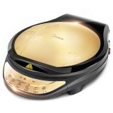美的(Midea)电饼铛家用双面加热悬浮烤盘微电脑一键菜单煎烤机WJCN30D