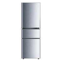 康佳(KONKA)192升 三门冰箱 软冷冻室(银色)BCD-192MT