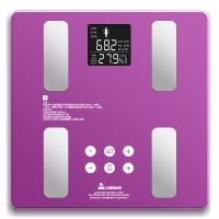 山鹰 SYE-2015D7 电子秤脂肪秤体脂秤体重秤家用电子称 (水晶紫)