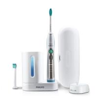 飛利浦(PHILIPS)電動牙刷HX6972/10充電式成人聲波震動牙刷 帶消毒器 5種刷牙模式