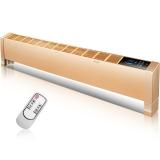 康佳(KONKA)取暖器/电暖器/电暖气/智能数码遥控带风机欧式快热双驱散热壁挂式踢脚线KH-TJX1701RS