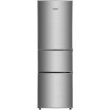 美菱(MELING)206升中门软冷冻 家用节能省电 三门冰箱 亚光银 BCD-206L3CT