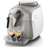 飞利浦(PHILIPS)咖啡机 全自动意式家用型带奶泡器 HD8651/17