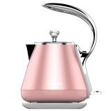 九阳(Joyoung)电水壶 热水壶 1.2L电热水壶 烧水壶 无缝内胆 双层彩钢K12-F3