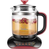 天际(TONZE)养生壶1.5L 花茶壶多功能高硼硅玻璃水壶BJH-W150P