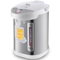 美的(Midea)电热水瓶 304不锈钢电水壶 5L容量 智能保温电热水壶 双出水口烧水壶PD105-50G