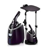 貝爾萊德(SALAV)掛燙機  雙桿 兩檔干濕兩熨 手持/平燙燙衣板/掛燙式電熨斗熨燙機ST220(紫色)