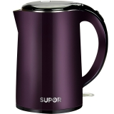 苏泊尔(SUPOR)电水壶热水壶电热水壶 1.7L全钢无缝 SWF17C05B