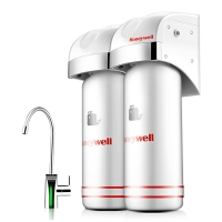 霍尼韦尔(Honeywell)家用净水器 微滤除铅不插电无废水 直饮矿物质厨下式净水机CP-50