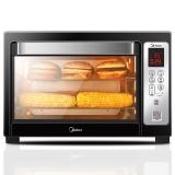 美的(Midea)T7-L384D 家用多功能 智能电烤箱 38升大容量 微联智能京东微联App控制