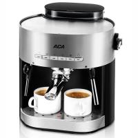 北美电器(ACA)意式咖啡机家用 压力蒸汽可打奶泡AC-E15B