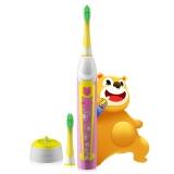 力博得(Lebond)电动牙刷 儿童自动超声波电动牙刷Iya儿童系列甜心超人(粉色)