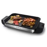 亨博(hengbo)电烧烤炉 家用电烤炉 无烟不粘单层大烤盘易清洗烤排烤鱼多用 HB-202A