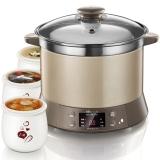小熊(Bear)电炖锅 隔水炖不锈钢电炖盅炖汤煲汤煮粥锅DDZ-125TC 2.5L
