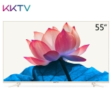 KKTV U55W 55英寸4K超高清 HDR 31核人工智能语音网络液晶平板电视机 康佳出品 金色