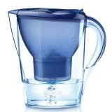碧然德(BRITA)过滤净水器 家用滤水壶 净水壶 Marella 金典系列 2.4L(蓝色)