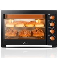 美的(Midea)T3-L385C 家用多功能电烤箱 38升大容量 低温发酵 上下管独立控温