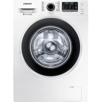 三星(SAMSUNG)9公斤全自动滚筒洗衣机 智能变频 超大投衣口WW90J5430GW(XQG90-90J5430GW)(白)