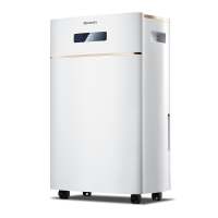 多乐信(DOROSIN)抽湿机/除湿机 除湿量20升/天 适用面积10-40平方米 家用地下室干衣净化吸湿器 ER-620E