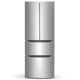 奥马(Homa) BCD-285K 285升 冷藏定期除霜 电脑控温 大容量超薄 独立分储 多门冰箱 银色
