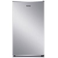 奥马(Homa) 92升 单门保鲜小冰箱 冷藏/微冻 节能迷你 家用 宿舍 银色 BC-92