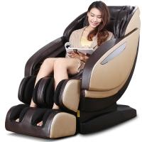 荣泰RONGTAI 6600按摩椅家用全身多功能太空舱按摩椅 棕色厂送