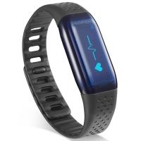 乐心  MAMBO HR 智能手环 心率手环 光感版 来电显示 震动提醒 计步 防水 专业运动手环 微信互联 黑色
