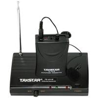 得胜(TAKSTAR)TS-331B无线麦克风一拖一无线话筒 领夹腰挂头戴教学会议麦克风黑色